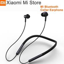 מקורי Xiaomi Bluetooth צווארון אוזניות ספורט אלחוטי Bluetooth אוזניות עם מיקרופון לשחק הכפול דינמי אוזניות אוזניות אוזניות