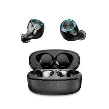 Mifa X5 Tws kablosuz Bluetooth kulaklıklar Bluetooth 5.0 dokunmatik kontrol su geçirmez IPX5