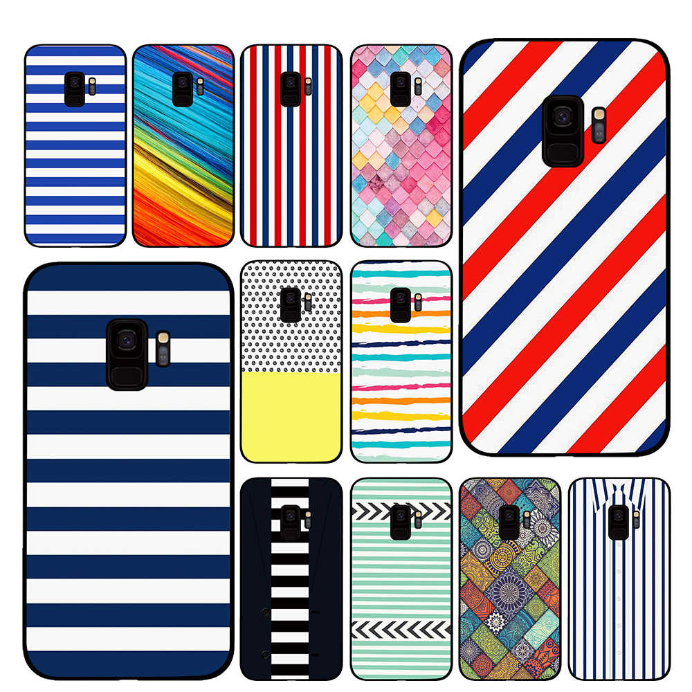 Geometric Wallpaper Cases For Samsung Galaxy S10 S8 S9 Plus S7 S6 Edge Note 8 9 Luxury Cover Half Wrapped Cases Aliexpress