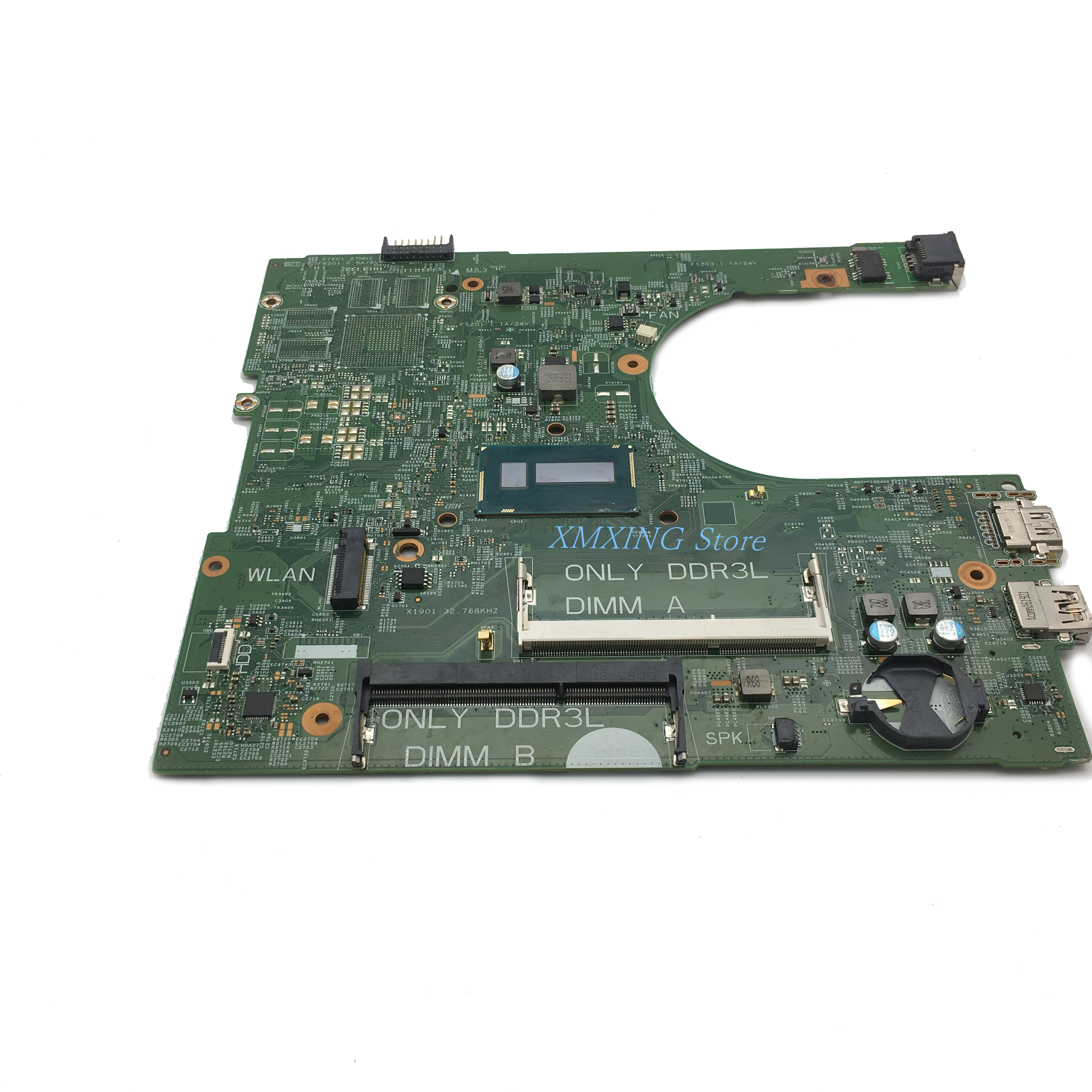 FULCOL For DELL INSPIRON CPU I3 3458 3558 Laptop Motherboard CN-0MY4NH CN-0MNGP8 0MNGP8 0MY4NH MY4NH 14216-1 Tested 100% work 4