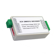 3CH RGB DMX Decoder Board Common Anode DMX512 Decoder DMX Controller