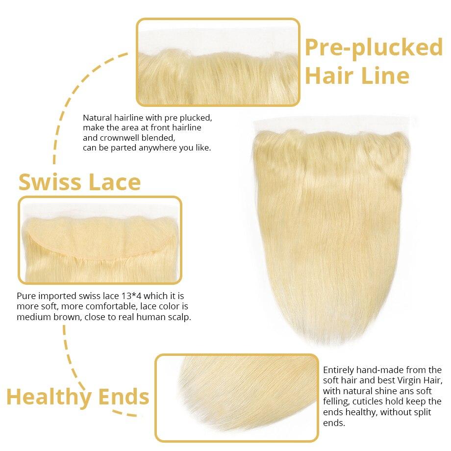 Free ShipÇ613 bundles with frontal straight brazilian hair weave bundles human hair 30 inch hair