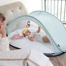 Складная детская кровать с москитной сеткой детские кроватки