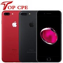 Original apple iphone 7 plus 3gb ram 32/128gb/256gb rom quad-core ios lte 12.0mp câmera impressão digital usado desbloqueado telefone móvel