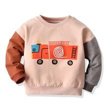 Спортивные свитера для активных детей; для маленьких мальчиков и девочек; теплые пуловеры на осень и зиму; Детский свитер для тренировок и фитнеса; От 0 до 5 лет