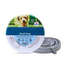 Acessórios do colar do tick suprimentos selados do animal de estimação para cães ou gatos 8 meses produtos de alta qualidade ajustável colar da pulga do gato