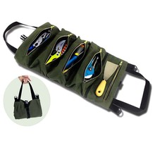 Pouch Wrench-Roll Organ Tote Hanging-Tool Multi-Purpose-Tool Roll-Up-Bag Car Versatile-Roll-Tool-Roll