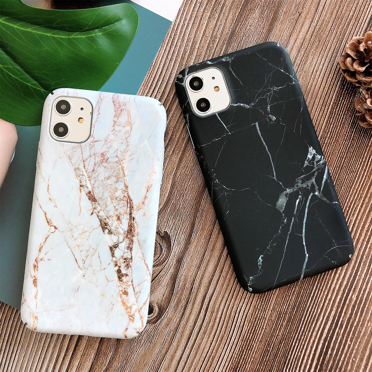 LISCN PC Marble Phone Case For IPhone XR 6 6sPlus 11 11Pro Max 7Plus 8Plus Xs Max 7 8 X Xs PC Anti-fall Protect Phone Case