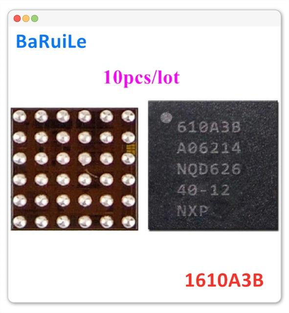BaRuiLe 10 pièces de charge IC U2 610A3B pour iphone 7 7 plus 7 P 7G chargeur IC 1610A3B puce U4001 36Pin à bord de la réparation de balle