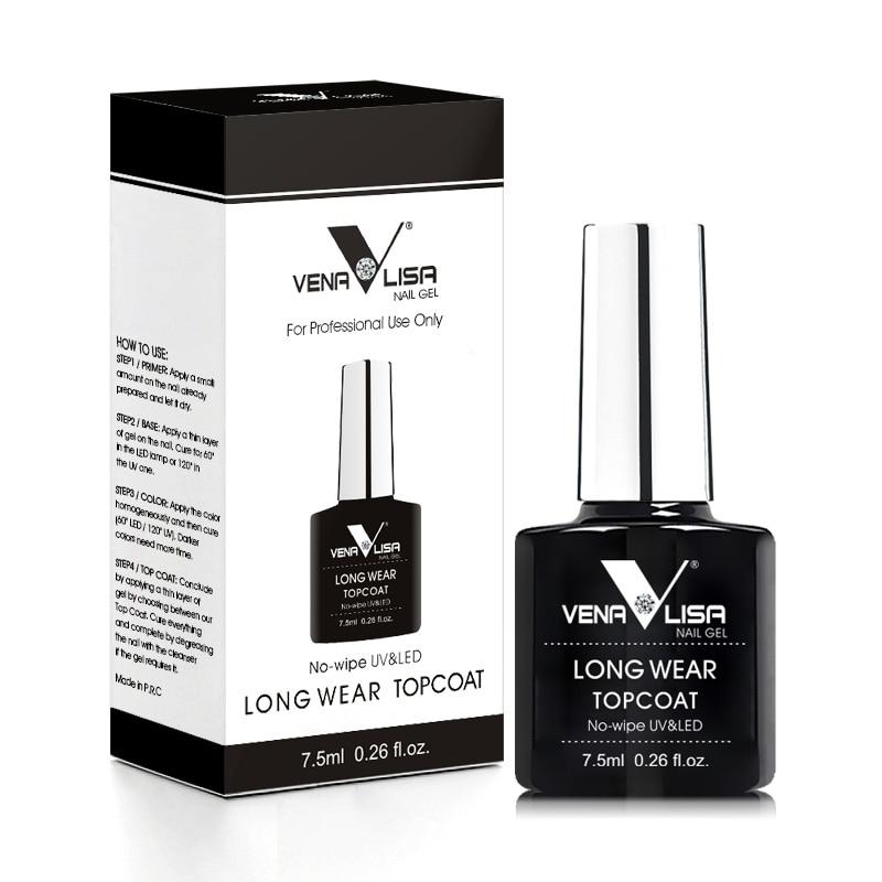 VENALISA Peel Off Base Coat Water Base Coat Long Wear Diamond Nowipe Top Coat New Arrival Basic Nail Gel Polish Shinning TopCoat