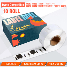 10roll Compatible Dymo Labels 11352 11354 11356 99010 99012 for lw 400 400 Turbo 450 450