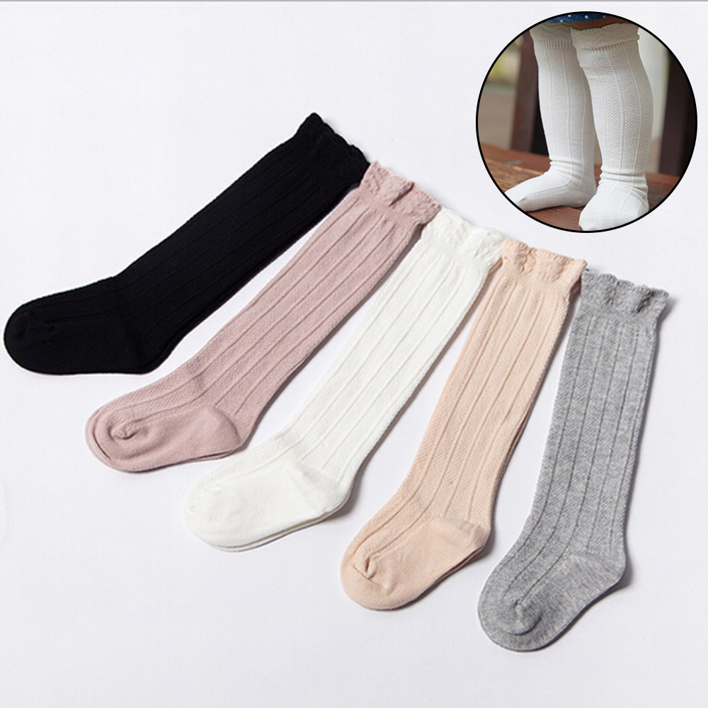 Autumn Baby Kid Socks For Girls Newborn Toddler Knee High Lace Sock Long Girls Cute Leg Warmers For Newborns Infantile Fox Socks