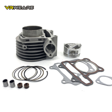 GY6150 cylinder Kit 57.4mm Cylinder Piston Ring Set for 4 stroke Scooter Moped ATV QUAD GY6 150 157QMJ 1P57QMJ goofit piston ring set for gy6 80cc atv go kart moped