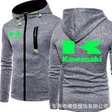 2020 Male Pullover Hoodie Men Hoodies Kawasaki Print Jacket