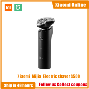 Original Xiaomi Mijia Electric Shaver Flex Razor Head 3 Dry Wet Shaving Washable Main-Sub Dual Blade Turbo+ Mode Comfy Clean