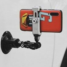Selens SSP 3 supporto di aspirazione della macchina fotografica di azione per Dji Osmo azione Gopro Eken supporto ventosa supporto auto supporto ventosa di vetro