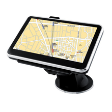 цена на 5 Inch 8GB 128MB Satellite Post Code Portable GPS Navigation Touch Screen Car System Truck Multi Language Lorry FM Maps Search