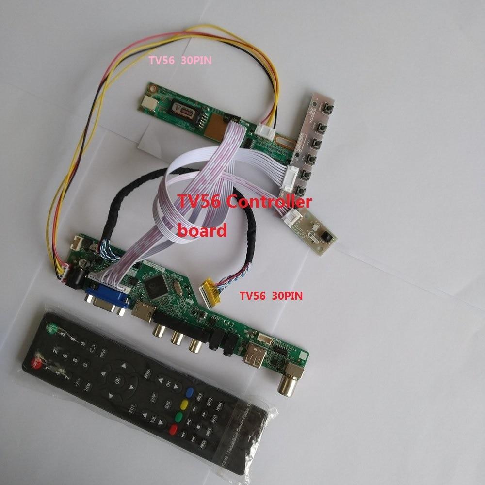 HDMI USB Controller Board Kit Card TV AUDIO AV VGA LCD 30pin LVDS For N154I2 1280X800 Panel Display LED DIY