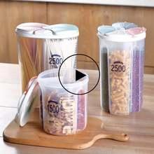 Пластиковый диспенсер для зерновых культур ящик хранения Кухня