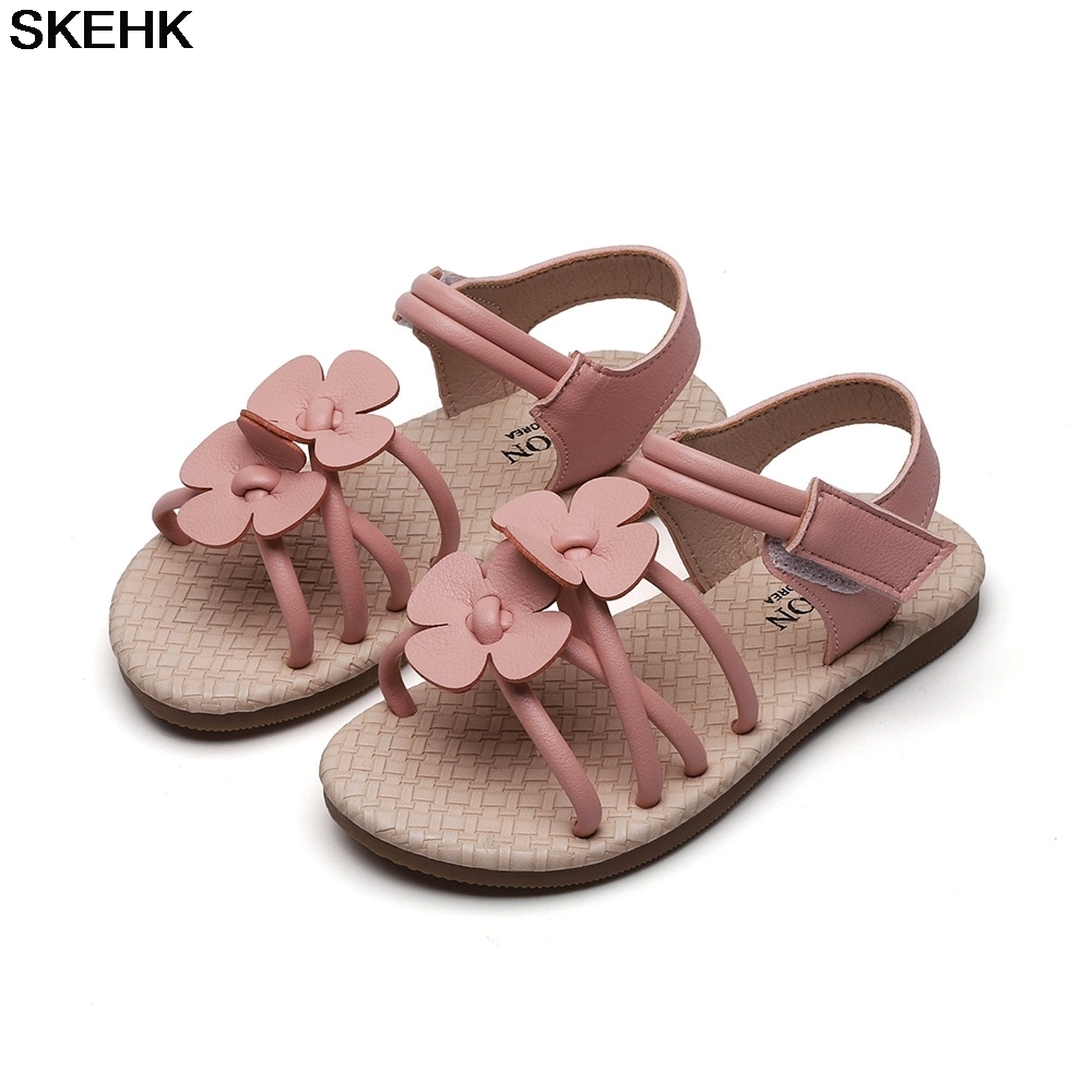 Baby Girl Children Leather Sandals New