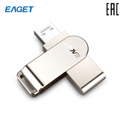 Eaget F60-64 USB 3.0 64 GB for LAPTOP PC [delivery from Russia]