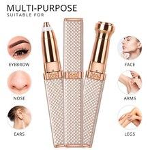 Facial-Hair-Remover Shaver-Razor Eyebrow Epilator Painless Mini Rechargeable Women Electric