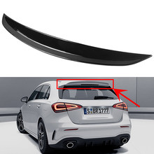 Tronco traseiro spoiler abs cauda do carro asa para mercedes benz a classe w177 a180 a160 a200 a220 a250 a45 a35 hatchback 2019 2020 2021