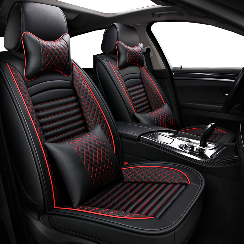 Universal PU Leather <font><b>car</b></font> <font><b>seat</b></font> <font><b>covers</b></font> For <font><b>mercedes</b></font> Benz <font><b>w211</b></font> cla w212 e-klasse gla w176 glk <font><b>w211</b></font> w245 gle a180 <font><b>Car</b></font> <font><b>seat</b></font> cushion image