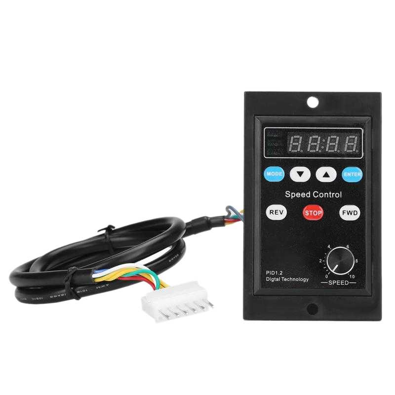 Ux-52 Digital Display Motor Speed Controllerมอเตอร์Governor Soft Startเครื่องมือ220V Ac 6W-400W