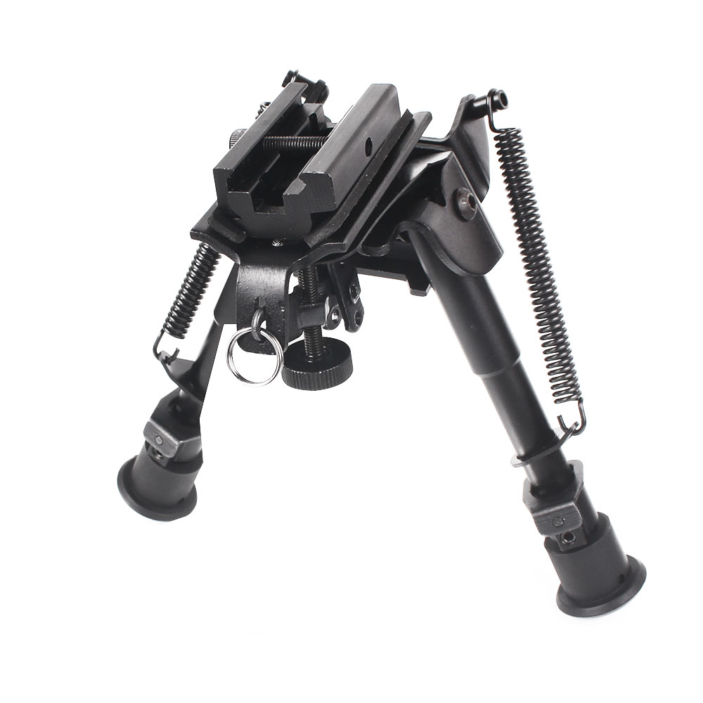 Gullfaxi Air Rifle Bipod 6-9 Inch Telescopic Bracket Support Frame Adapter Bracket Tripod Hunting Accessories Scope Mount Rail