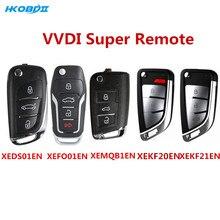 Xhorse universal vvdi super remoto com eletrônico super chip chave do carro para vvdi mini ferramenta chave vvdi2 programador xeds01/mqb1/fo01