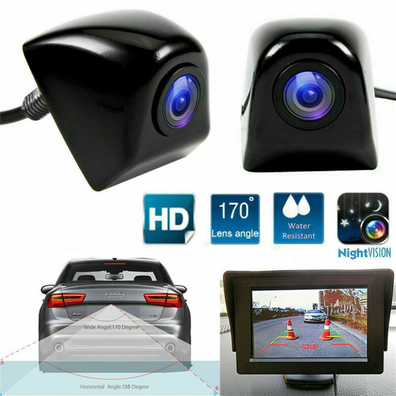 HD 170° CMOS Waterproof Night Vision Camera Car Rear View Reverse Backup Parking Camera