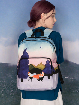 TANTO 2019 new fashion Original creative designed backpacks with digital printing and embroidery unisex school bag girls