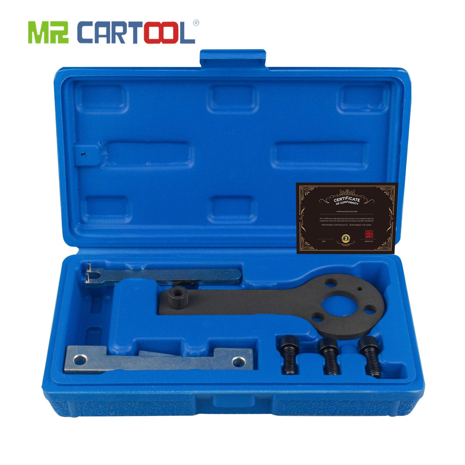 MR CARTOOL Auto Petrol Engine Camshaft Locking Timing Tool Kit For Fiat 500 / Punto Evo/Panda / 1.1,