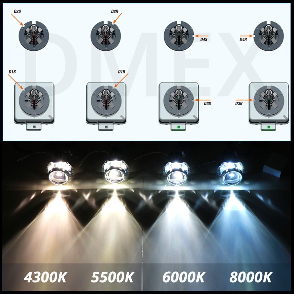 35W D2S D2R Xenon Car Replacement HID Factory Headlight Light Lamp Bulb 4 Colors
