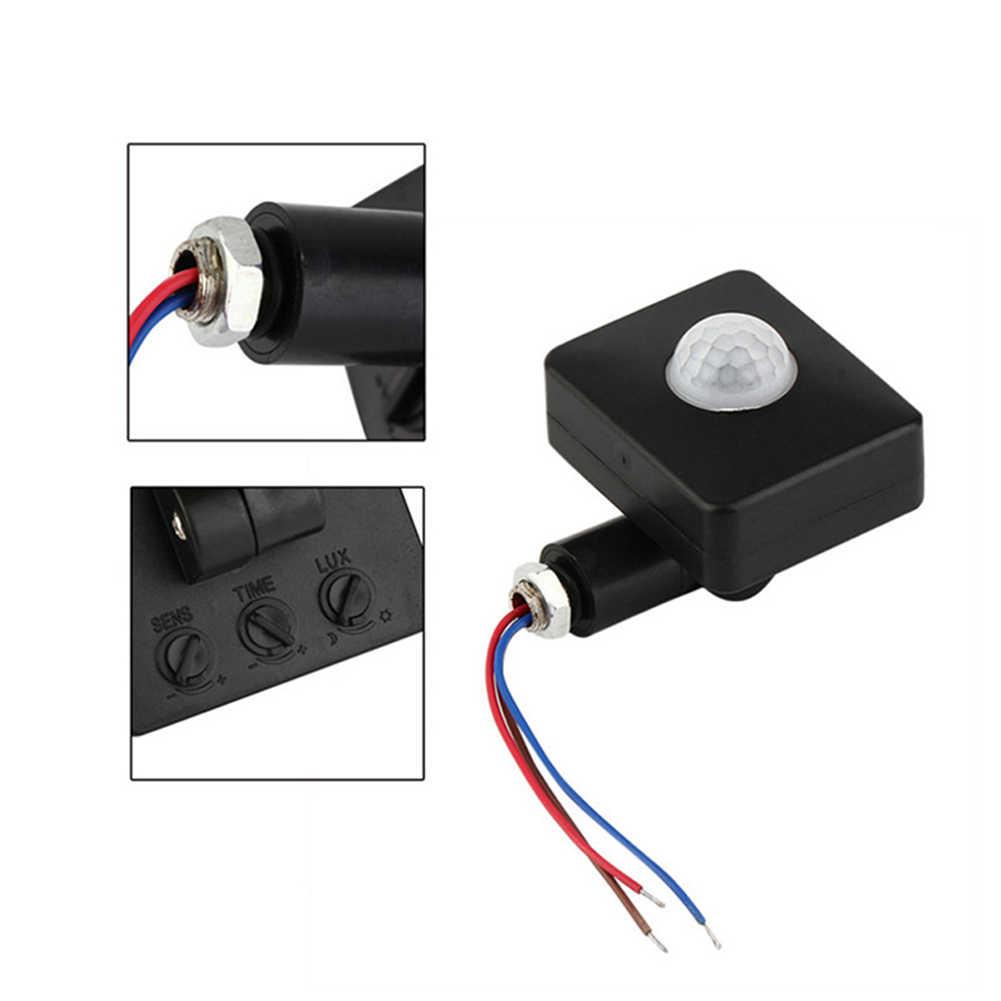 Автоматический практичный уличный датчик движения безопасности детектор PIR инфракрасный прочный светодиодный фонарь нож домашний 160 градусов мини-переключатель