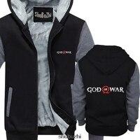 God of War thick hoody or Vest Gaming warm coat Mens Top Video Games Clothing Viking Power sbz3460