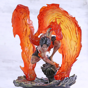 Anime One Piece Portgas D Ace Born of Fire PVC Figure Collectible Model Toy