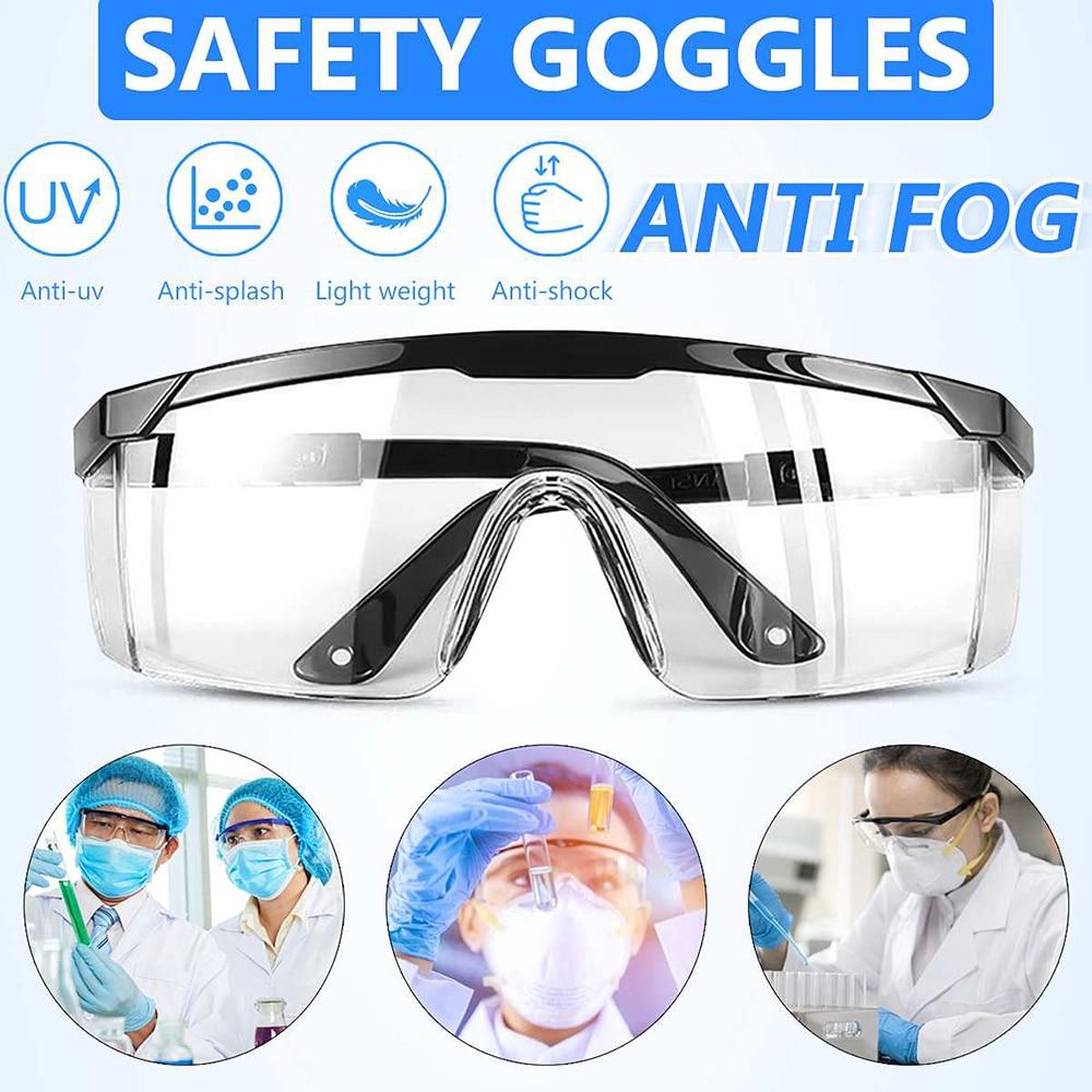 Nuevas gafas de seguridad profesionales, anteojos protección para la vista, gafas protectoras antiniebla, gafas claras de ventilación, gafas protectoras para el trabajo en laboratorio|Gafas protectoras|   - AliExpress
