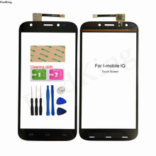Phone Touch Screen TouchScreen For I-mobile IQ Touch Screen Front Glass Digitizer Panel Sensor Replacement Part 3M Glue