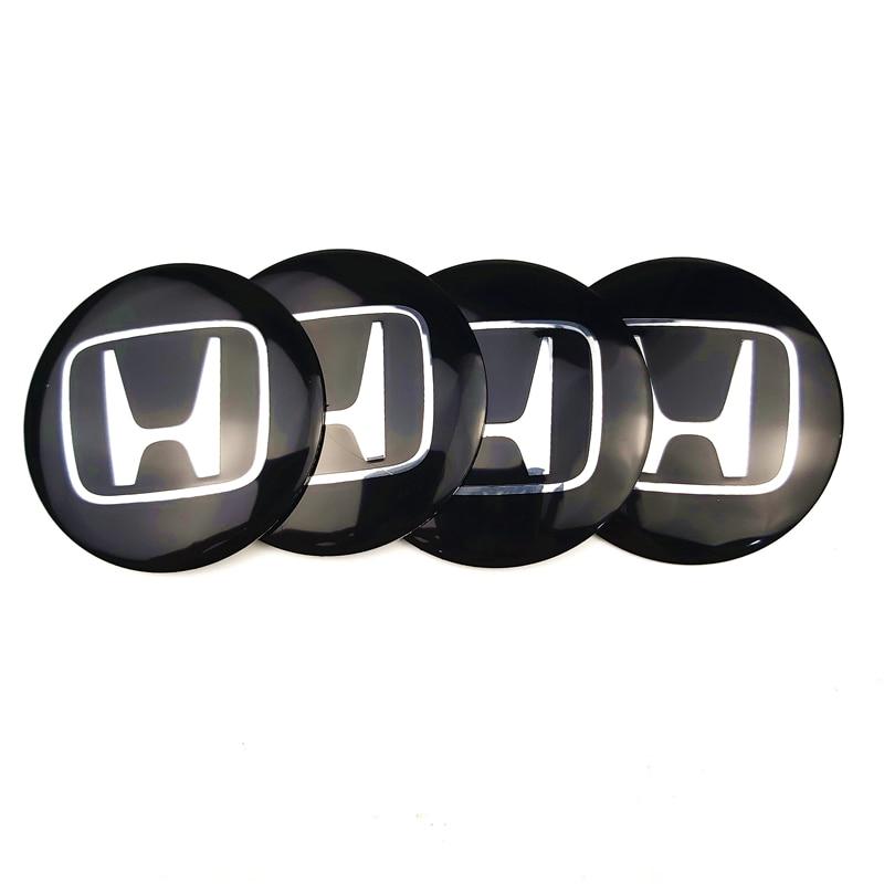 4 шт. автомобильный Стайлинг Руль Центр шины пылезащитный чехол наклейка для Honda Accord FIT CITY CRV Мотоцикл аксессуары для стайлинга автомобилей