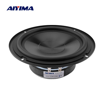 AIYIMA 1Pcs 6.5 Inch Audio Woofer Speaker Driver 8 Ohm 50W Rubber Edge Midrange Bass Sound Speaker Amplifier DIY Home Theater