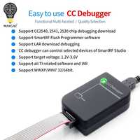 CC Debugger ZIGBEE emulator support online upgrade original shell original quality 2540 2541 2530 protocol analysis