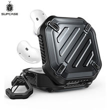 SUPCASE For Samsung Galaxy Buds Live Case (2020) / Buds Pro Case (2021) UB Pro Full-Body Rugged Protective Cover with Carabiner