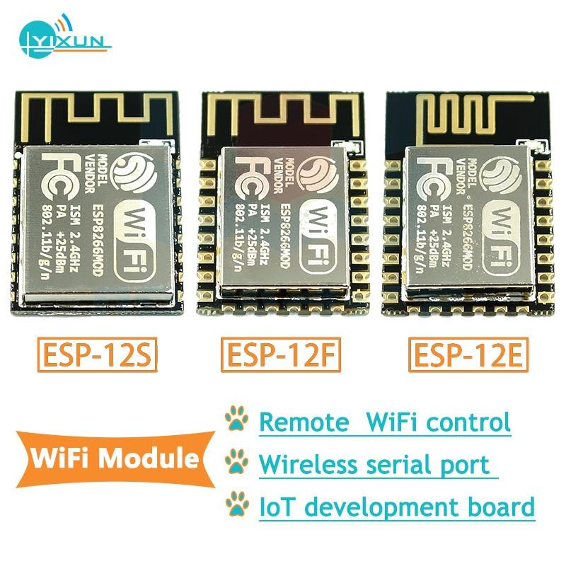 10pcs/lot ESP8266-12 Esp-12F ESP12 Esp12F ESP-12 Wireless Serial Port Module Remote WiFi Control 2.4G IOT Wifi Sensor ESP-12E