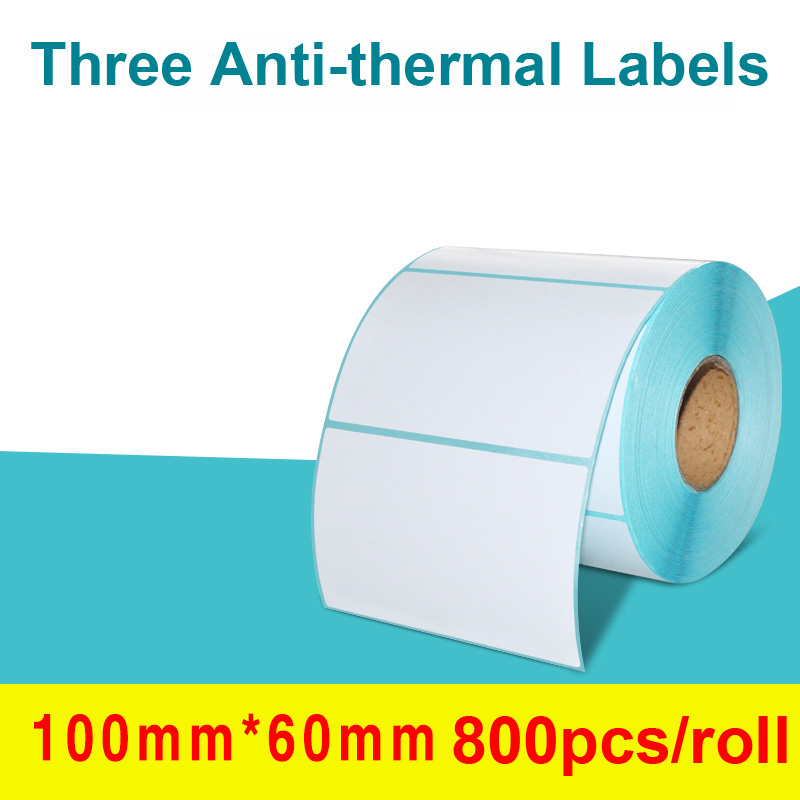 Hot Sale Barcode Label Thermal Label Sticker Paper Direct Print Waterproof