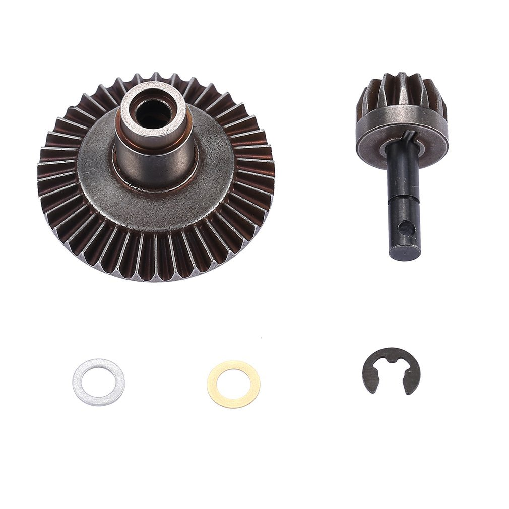 2019 13T 38T Metal Crown Differential Main Gear Kit For Front/ Rear Axle AXIAL SCX10 90021 90022 RC Off-Road Bigfoot Truck Car