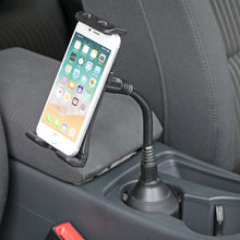 Auto Tasse Basis Telefon Supporter 360 Grad Dreh Flexible Telefon Halter Tasse Flasche Können Halter Tür Montieren Tasse Halter