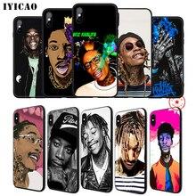 IYICAO Wiz Khalifa Rapper Soft Phone Case for iPhone XR X XS Max 6 6S 7 8 Plus 5 5S SE Silicone TPU fangtastic ms wiz