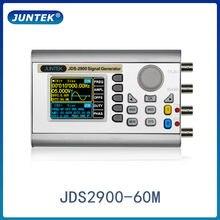Jds2900 60m portátil de alta precisão digital duplo-canal dds função/gerador de sinal de forma de onda arbitrária/medidor de freqüência